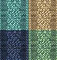 Set of Six-Stitch cable stitch patterns