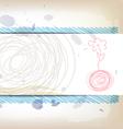 art banner design vector image vector image
