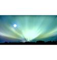 aurora background vector image vector image