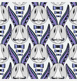hipster rabbits pattern zentangle creative vector image