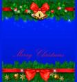 Merry christmas christmas decoration decoration vector image