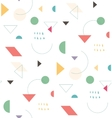 Holiday geometric pattern vector image