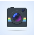 Camera icon isolated vector image