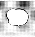 Retro Style Speech Bubble vector image