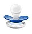 baby boy pacifier vector image