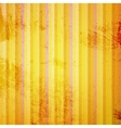 Yellow Striped Grunge vector image vector image