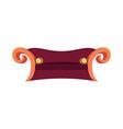 sofa home furniture design icon logo concept vector image