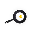 Tasty Scrambled Eggs vector image