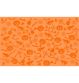 Scratched Halloween Background vector image