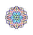 stained-glass window temlate vector image