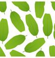 banana leaves seamless pattern vector image vector image