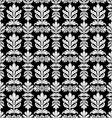 Royal black and white background vector image vector image