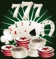 casino poker elements vector image