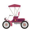 carriage horse cinderella princess silhouette vector image