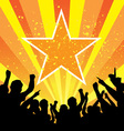 funny concert vector image