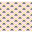 Geometric pink black and gold glittering seamless vector image