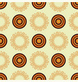 abstract mandala in an african style seamless vector image