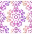 Pink Mandala Seamless Pattern vector image