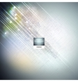 Cyberspace abstract science or technology vector image