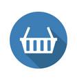 shop basket icon vector image
