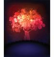 neon blossom vector image