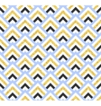 Geometric blue black and gold glittering seamless vector image