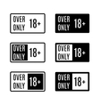 Set icons over only vector image