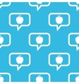 Apple message pattern vector image