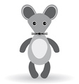 Funny mouse on a white background vector image