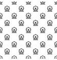 giant ferris wheel pattern vector image