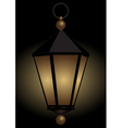 Luminous hand lamp vector image vector image