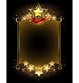 Design with Five Stars vector image vector image