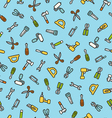 Tools pattern vector image vector image