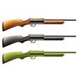 Rifles vector image