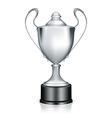 Silver Trophy vector image vector image