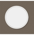Frame in Vintage Background vector image vector image
