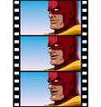Superhero Talk vector image vector image