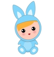 Babies Of Hare Suit vector image