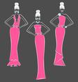 fashion design vector image