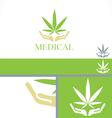 Medical Dispensary concept branding design templat vector image vector image
