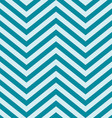 Turquoise Blue V Shape Chevron Background vector image vector image