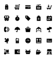 Shipping and Delivery Icons 1 vector image