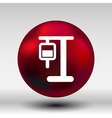 infusion icon medical bag dropper intravenous vein vector image