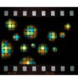 mosaic balls vector image