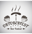Oktoberfest Emblem vector image