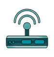 wifi router icon image vector image