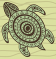 Turtle 3 vector image