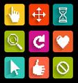 Button game vector image