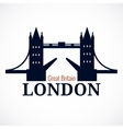 London Bridge Logo vector image