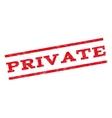 Private Watermark Stamp vector image